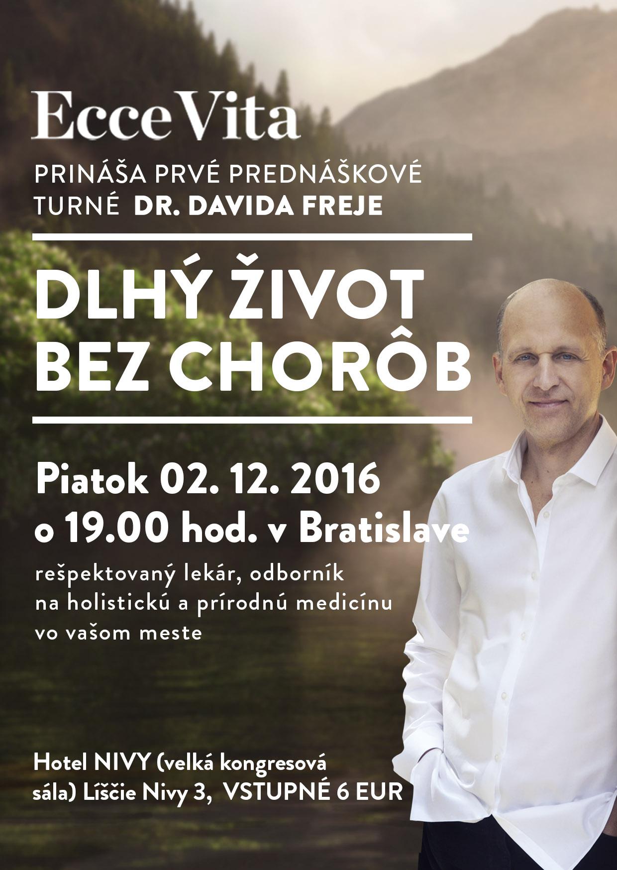 Mudr. David Frej v Bratislave - 02.12.2016
